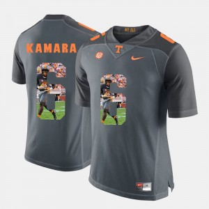 For Men Pictorial Fashion Grey Tennessee Volunteers Alvin Kamara College Jersey #6