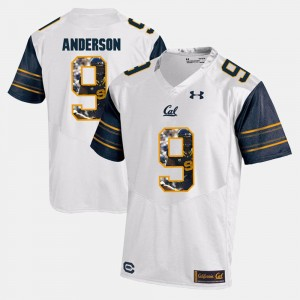 Player Pictorial White C.J. Anderson College Jersey Mens Berkeley #9
