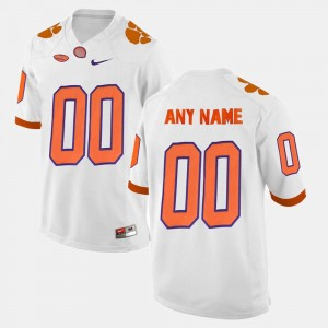 For Men's Limited Football #00 College Customized Jersey CFP Champs White