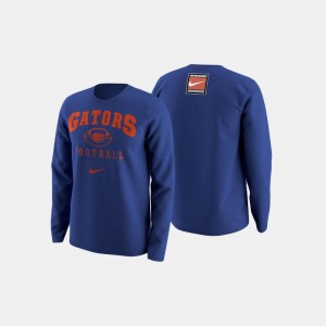 For Men UF Football Retro Pack College Sweater Royal Blue