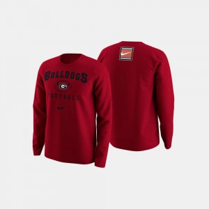 Football Retro Pack For Men's UGA Bulldogs College Sweater Red