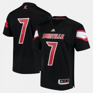 Cardinals Black #7 2017 Special Games For Men's College Jersey