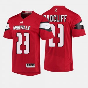 Brandon Radcliff College Jersey Cardinals Red #23 Football For Men