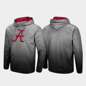 For Men's Sitwell Sublimated College Hoodie Pullover Heathered Gray University of Alabama