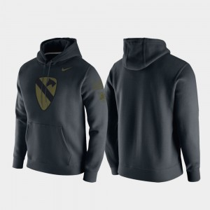 For Men 1st Cavalry Division College Hoodie Anthracite Westpoint