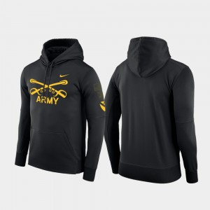 College Hoodie Therma 1st Cavalry Division Black Men Army West Point