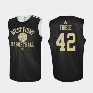Practice Black Brendan Thiele College Jersey Army For Men's Basketball #42