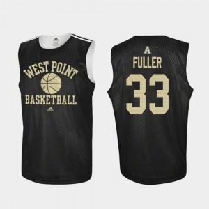 #33 Practice Black United States Military Academy Cam Fuller College Jersey Basketball For Men