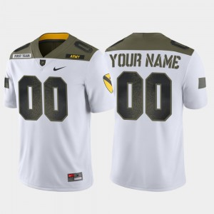 #00 College Custom Jersey For Men's White Army 1st Cavalry Division Limited Edition