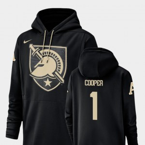 Champ Drive #1 Fred Cooper College Hoodie For Men's Football Performance Westpoint Black