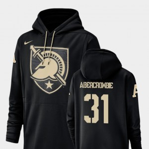 #31 John Abercrombie College Hoodie Army West Point Black Champ Drive Men Football Performance
