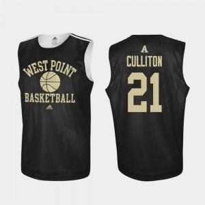 Basketball Black Westpoint Will Culliton College Jersey Mens Practice #21