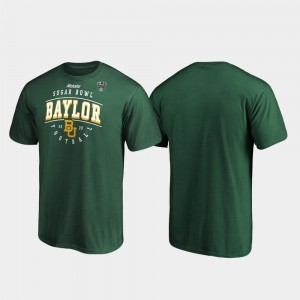 College T-Shirt Tackle Bears 2020 Sugar Bowl Bound For Men Green