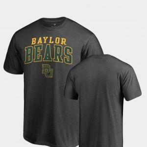 Square Up Bears Mens College T-Shirt Heathered Charcoal