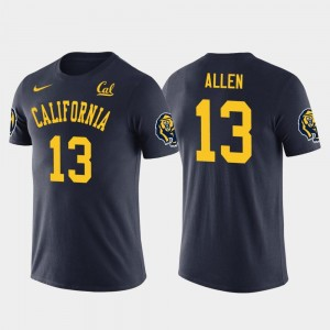 Keenan Allen College T-Shirt Future Stars Mens #13 University of California Los Angeles Chargers Football Navy