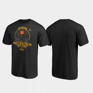2020 National Championship Bound Clemson For Men's French Quarter Football Playoff Black College T-Shirt
