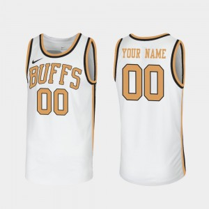 Sox Walseth-Era For Men's Throwback White College Customized Jerseys CU Buffs #00