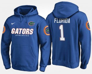 Gator #1 No.1 Blue College Hoodie For Men's
