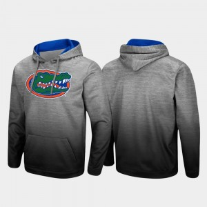 Pullover UF Heathered Gray For Men Sitwell Sublimated College Hoodie