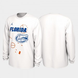 Florida Our Time Bench Legend 2020 March Madness For Men's College T-Shirt White