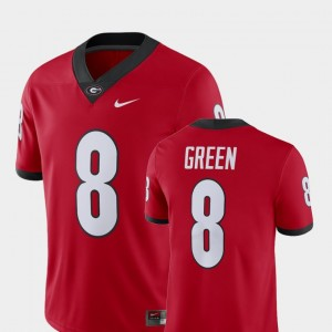 Alumni Football Game #8 A.J. Green College Jersey For Men Player University of Georgia Red