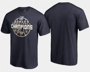 2018 Atlantic 10 Champions College T-Shirt GW Colonials Navy Basketball Conference Tournament For Men