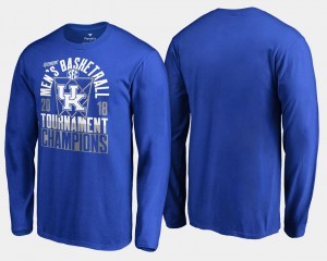 Royal College T-Shirt 2018 SEC Champions Long Sleeve UK Basketball Conference Tournament Men's