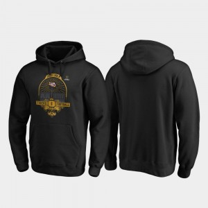 Football Playoff French Quarter Tigers Black Mens 2020 National Championship Bound College Hoodie