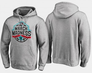 March Madness College Hoodie For Men's Gray Final Four Tipoff Basketball Tournament