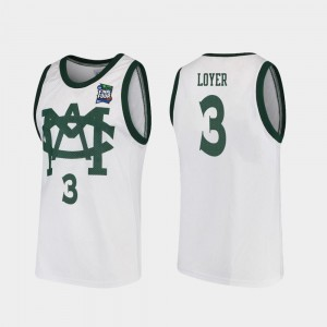 2019 Final-Four #3 Foster Loyer College Jersey White Vault MAC Replica For Men Michigan State University