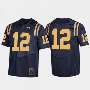 Rivalry Midshipmen Navy For Men Game College Jersey #12