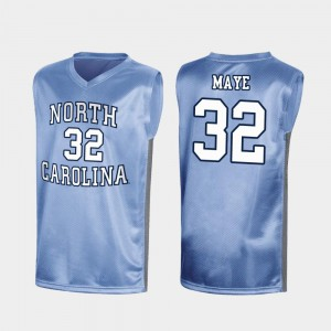 March Madness Luke Maye College Jersey Men's UNC Special Basketball Royal #32