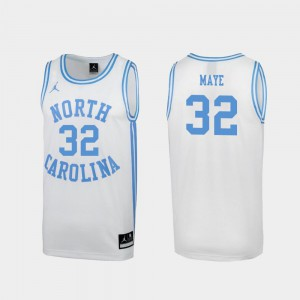 Luke Maye College Jersey #32 Special Basketball White March Madness UNC Mens