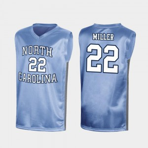 UNC Royal #22 Special Basketball For Men March Madness Walker Miller College Jersey