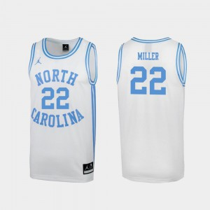 For Men March Madness White Special Basketball Tar Heels #22 Walker Miller College Jersey