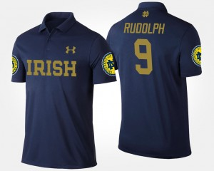 #9 Navy Kyle Rudolph College Polo Notre Dame Fighting Irish Mens