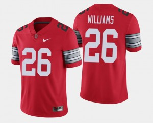 2018 Spring Game Limited Buckeyes #26 For Men Antonio Williams College Jersey Scarlet