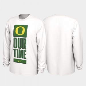 Our Time Bench Legend 2020 March Madness Men's White College T-Shirt UO