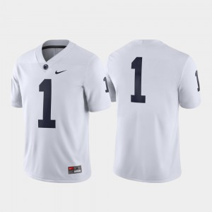 #1 Nittany Lions Game College Jersey Men White