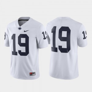 #19 College Jersey Mens Limited White Penn State