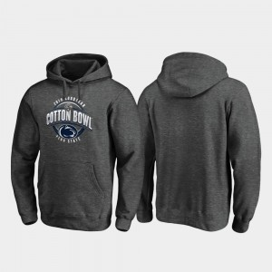 College Hoodie 2019 Cotton Bowl Bound Men's Scrimmage Heather Gray Penn State Nittany Lions