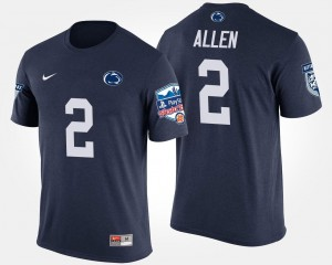 Men's Navy Nittany Lions Marcus Allen College T-Shirt Fiesta Bowl Bowl Game #2