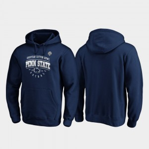 Navy Tackle College Hoodie Men Penn State 2019 Cotton Bowl Bound