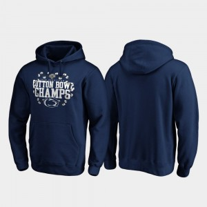 For Men's PSU Receiver Navy 2019 Cotton Bowl Champions College Hoodie