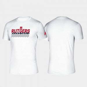 Basketball Salute to Service White Rutgers University Men College T-Shirt Climalite