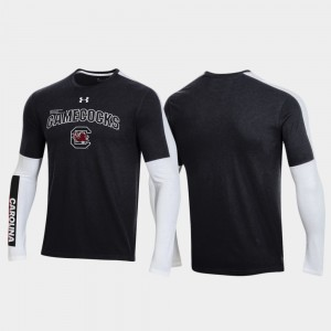 Black SC For Men OT 2.0 Shooting Long Sleeve College T-Shirt 2020 March Madness