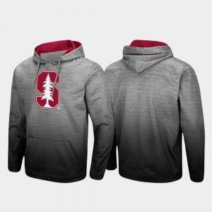 Sitwell Sublimated Stanford Cardinal Men Pullover Heathered Gray College Hoodie