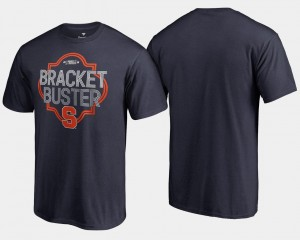 Navy Mens Cuse Orange College T-Shirt Basketball Tournament 2018 March Madness Bracket Buster