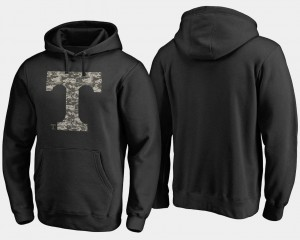 Camo Cloak For Men's College Hoodie Tennessee Black Big & Tall