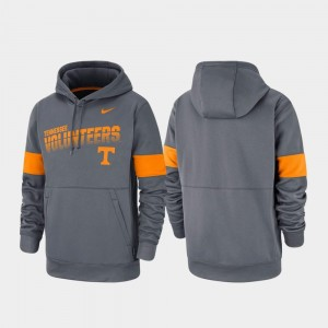 Performance Pullover For Men Charcoal UT VOLS College Hoodie